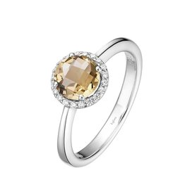 Lafonn November Birthstone Ring, Citrine