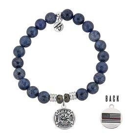 Tiffany Jazelle Core Collection Bracelet, Dumortierite, Firefighter