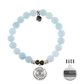 Tiffany Jazelle Core Collection Bracelet, Blue Aquamarine, Police Officer
