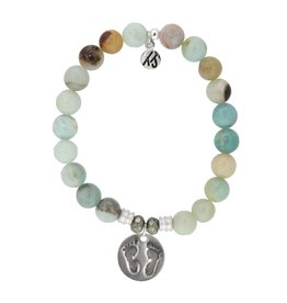 Tiffany Jazelle Core Collection Bracelet,Amazonite , Baby Feet