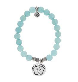 Tiffany Jazelle Core Collection Bracelet, Apatite, Baby Feet