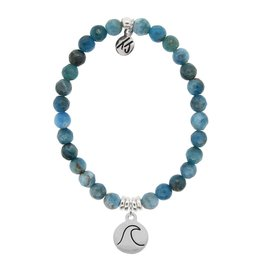 Tiffany Jazelle La Bella Vita - 6MM Arctic Apatite - Wave