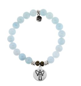 Tiffany Jazelle Core Collection Bracelet, Blue Aquamarine, Guardian Angel
