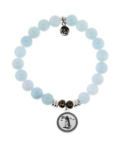 Tiffany Jazelle Core Collection Bracelet, Blue Aquamarine, Lighthouse