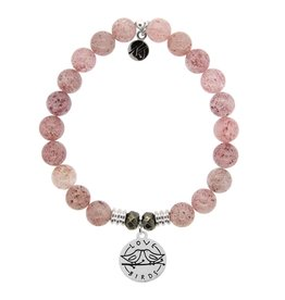 Tiffany Jazelle Core Collection Bracelet, Cherry Quartz, Love Birds