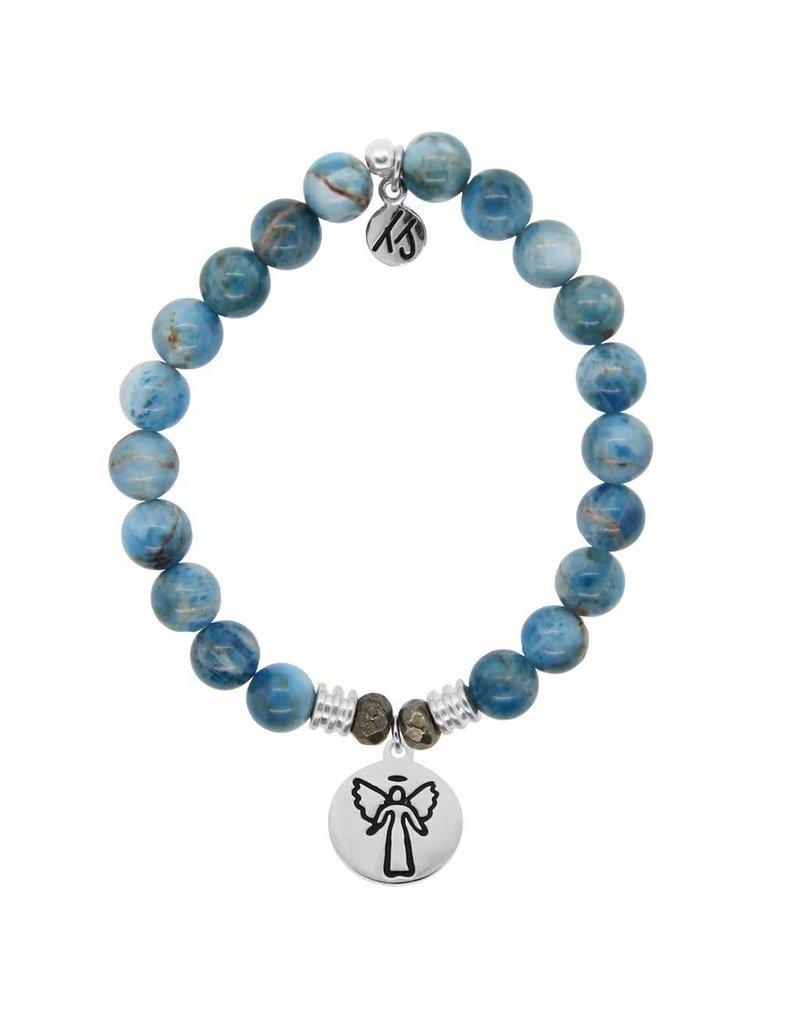 Tiffany Jazelle Core Collection Bracelet, Arctic Apatite, Guardian Angel