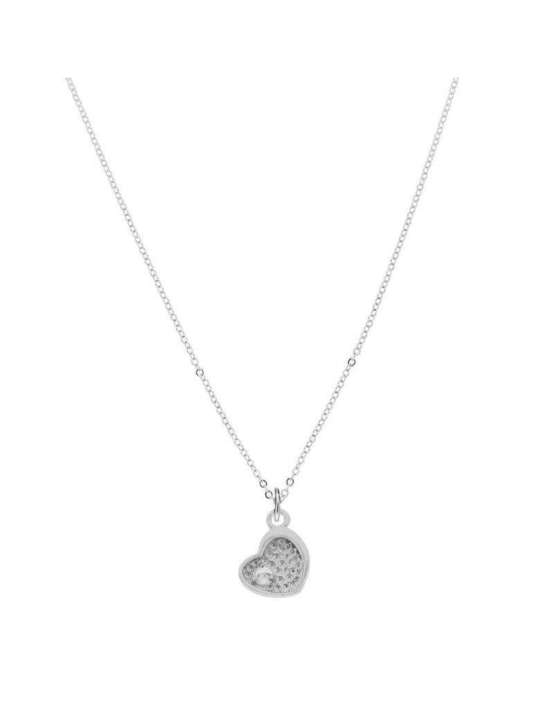 Tiffany Jazelle Necklace Heart 13''-15''