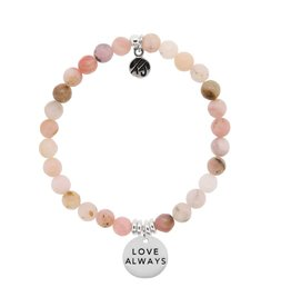 Tiffany Jazelle La Bella Vita - 6MM Pink Opal - Love Always