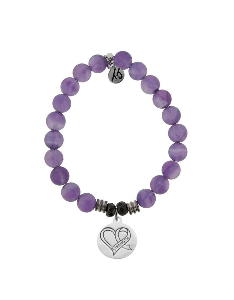 Tiffany Jazelle Core Collection, Amethyst, Strength Heart