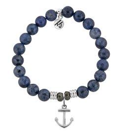 Tiffany Jazelle Core Collection Bracelet, Dumortierite, Anchor