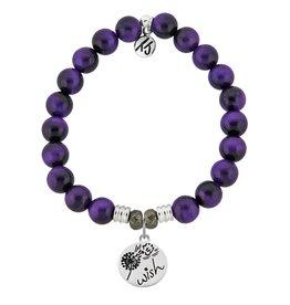 Tiffany Jazelle Core Collection Bracelet, Purple Tiger's Eye, Wish