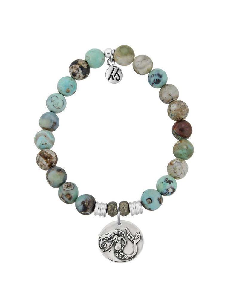 Tiffany Jazelle Core Collection Bracelet, Turquoise Jasper, Mermaid
