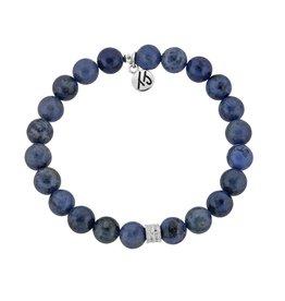 Tiffany Jazelle Signature Stacker 8mm Bracelet, Dumortierite