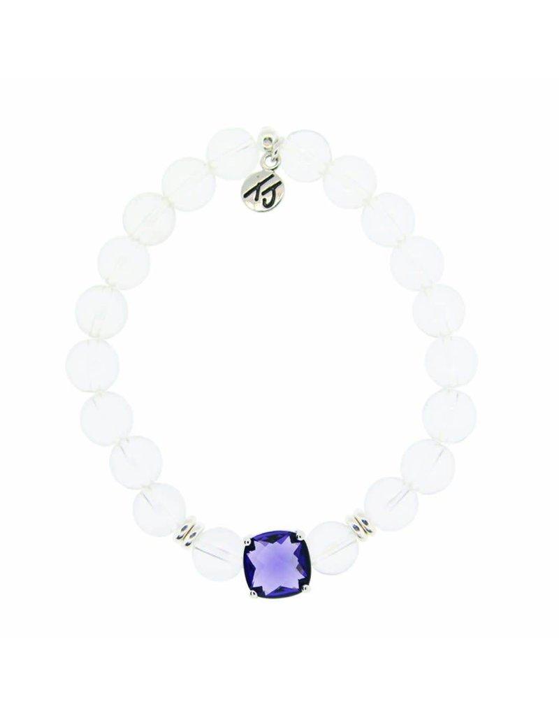 Tiffany Jazelle Adorn Bracelet, Crystal - Amethyst