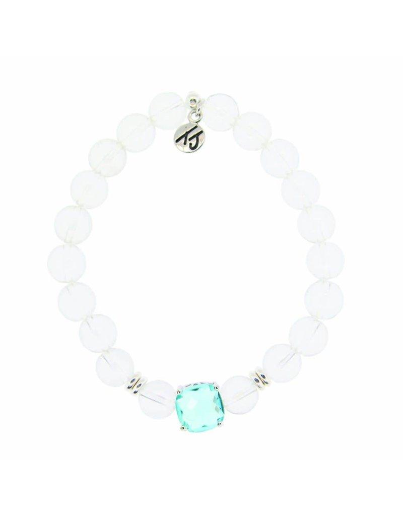 Tiffany Jazelle Adorn Bracelet, Crystal - Blue Topaz