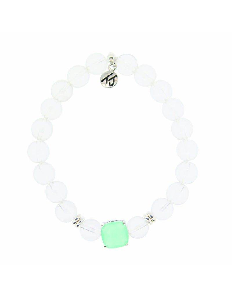Tiffany Jazelle Adorn Bracelet, Crystal - Seafoam Green