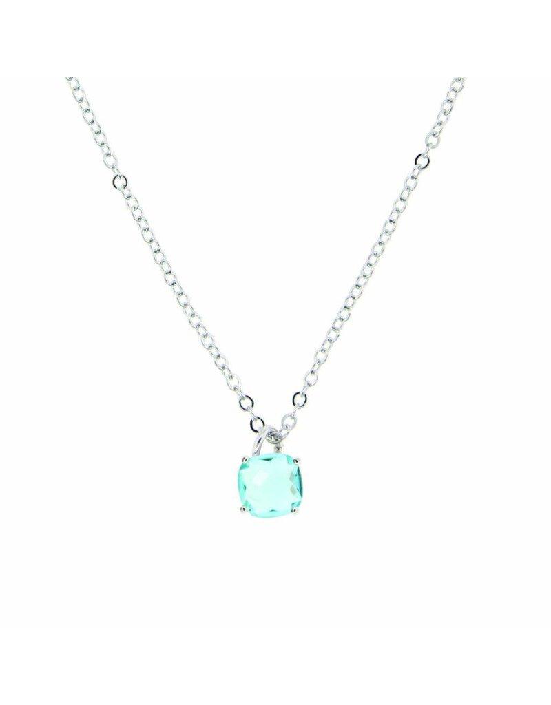 Tiffany Jazelle Adorn Necklace 16''-18'', Blue Topaz