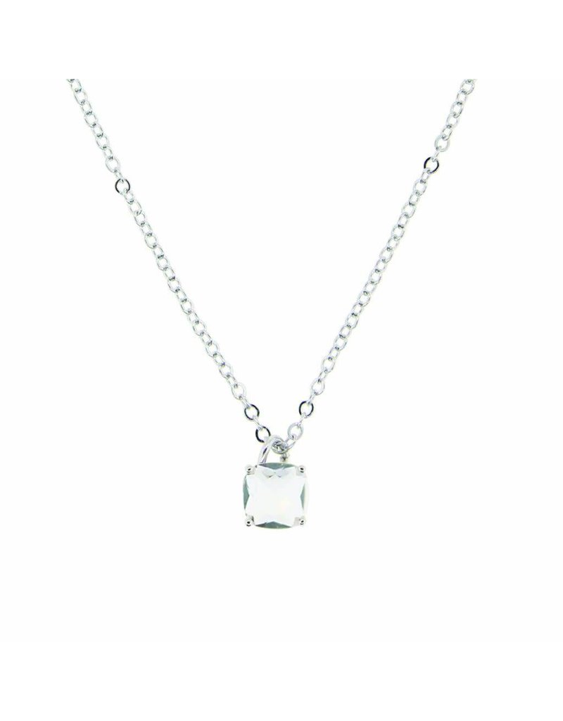 Tiffany Jazelle Adorn Necklace 16''-18'', Crystal