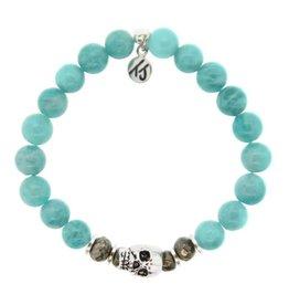 Tiffany Jazelle Core Collection Bracelet, Apatite, Skull