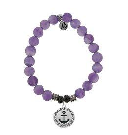 Tiffany Jazelle Castaway Collection Bracelet, Amethyst, Anchor