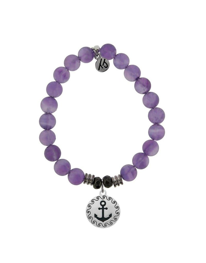 Tiffany Jazelle Castaway Collection Bracelet, Amethyst, Anchor