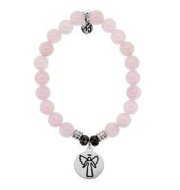 Tiffany Jazelle Core Collection Bracelet, Rose Quartz, Guardian Angel