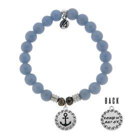 Tiffany Jazelle Core Collection Bracelet, Angelite, Anchor Cast