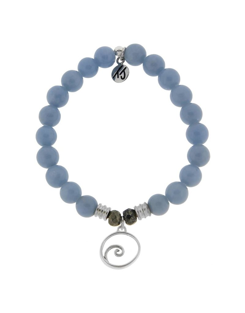 Tiffany Jazelle Collection Bracelet, Angelite, Wave