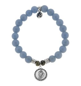 Tiffany Jazelle Collection Bracelet, Angelite, Conch Shell