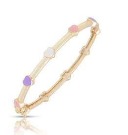 Lily Nily Heart Bangle - Multi Color