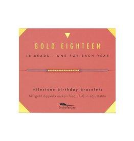 Lucky Feather Bold 18 Bracelet