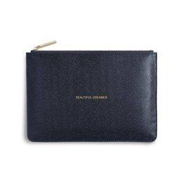 Katie Loxton Perfect Pouch - Beautiful Dreamer- Shiny Blue