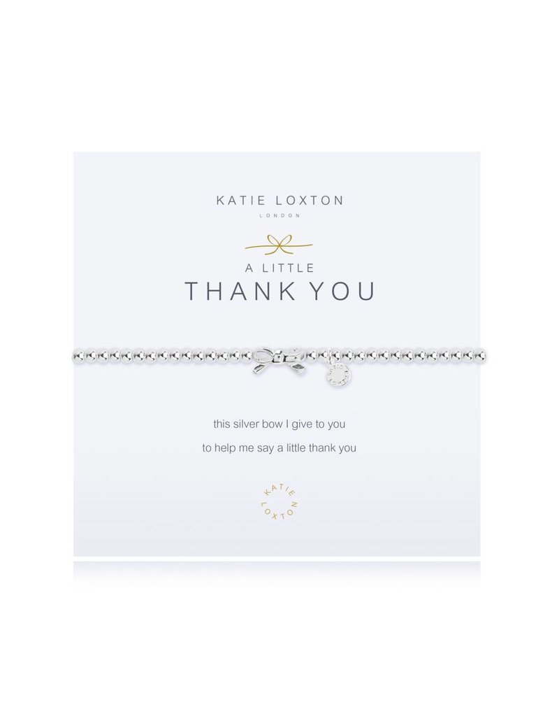 Katie Loxton a little THANK YOU - bracelet