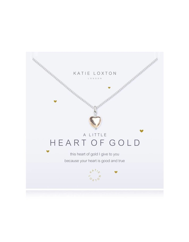 Katie Loxton a little HEART OF GOLD - necklace