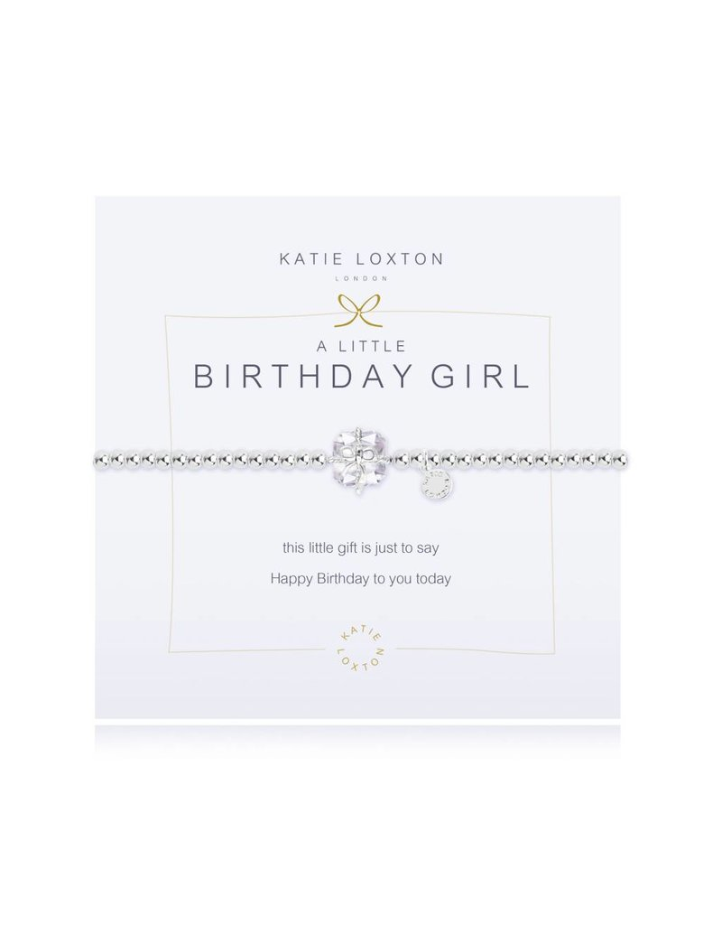 Katie Loxton a little BIRTHDAY GIRL - bracelet