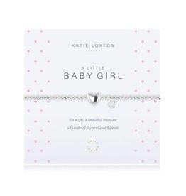 Katie Loxton a little BABY GIRL - bracelet