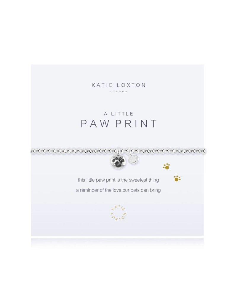 Katie Loxton a little PAW PRINT - bracelet
