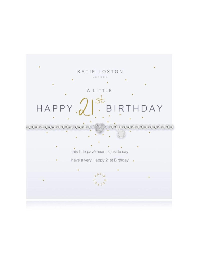 Katie Loxton a little HAPPY 21ST - bracelet