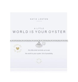 Katie Loxton a little WORLD IS YOUR OYSTER - bracelet