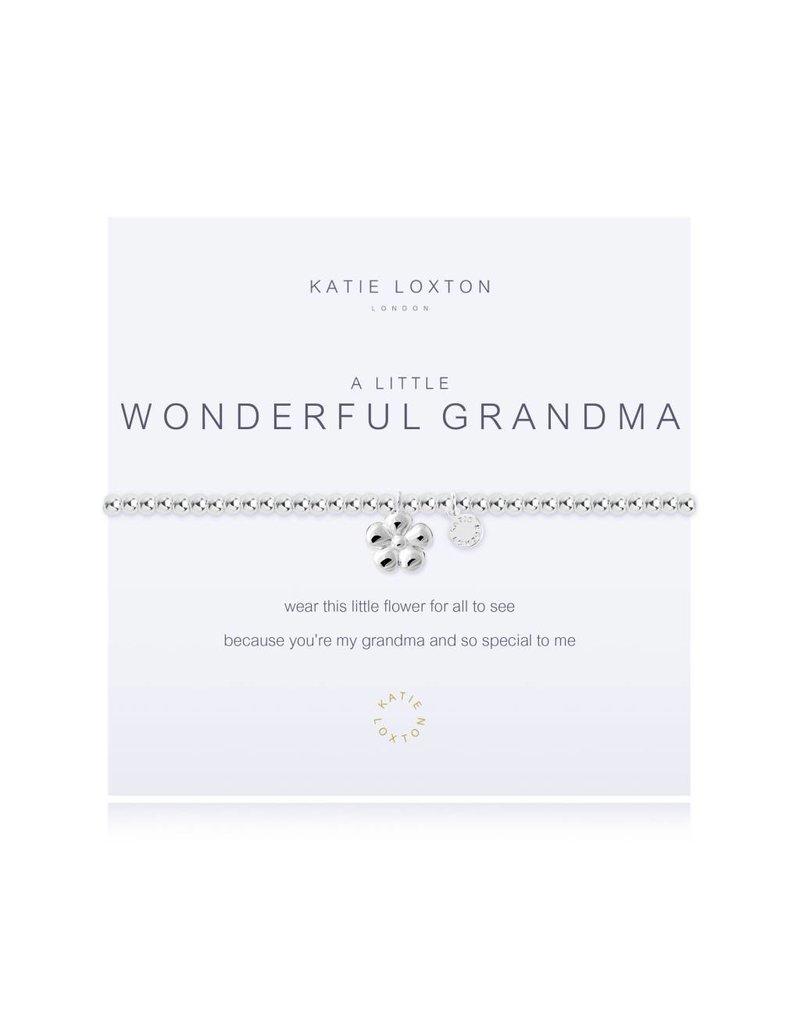Katie Loxton a little WONDERFUL GRANDMA - bracelet
