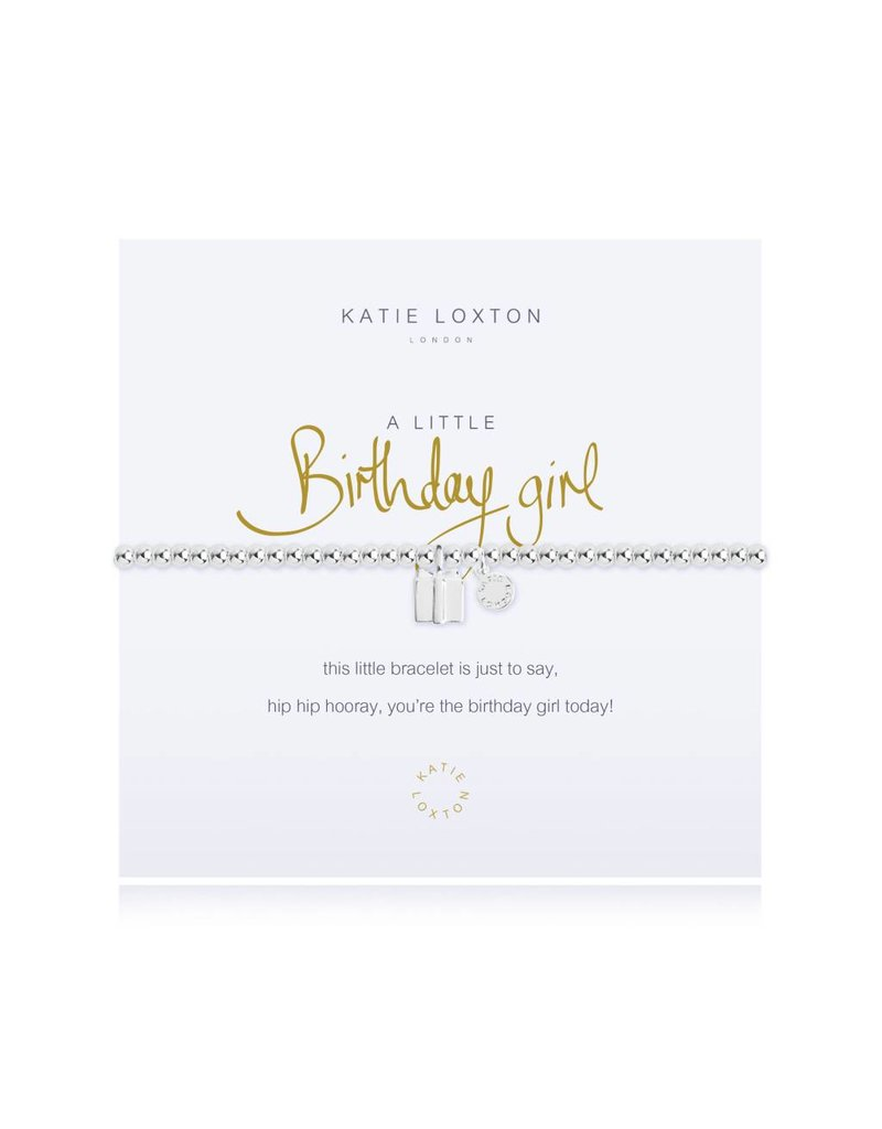 Katie Loxton a little BIRTHDAY GIRL - bracelet