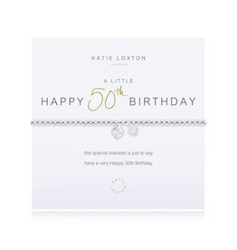Katie Loxton a little 50th BIRTHDAY - bracelet