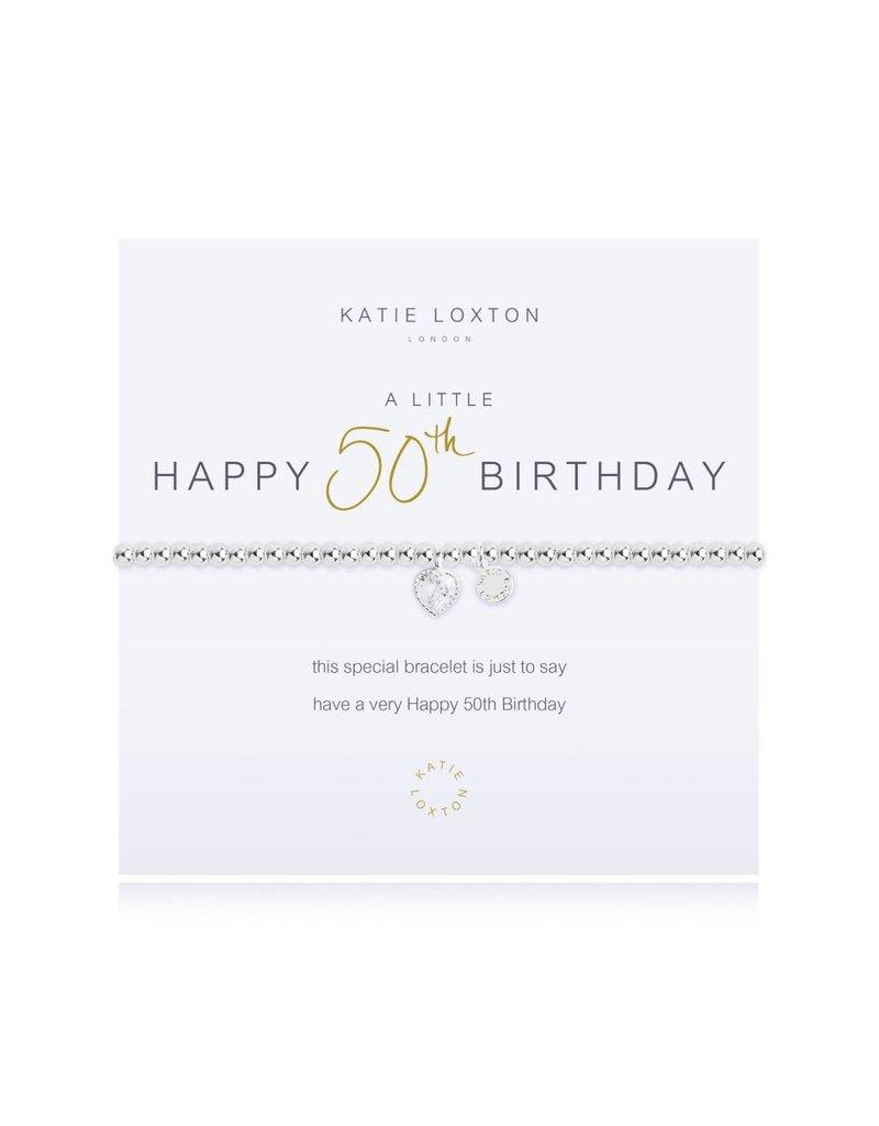 Katie Loxton a little 50th BIRTHDAY - bracelet