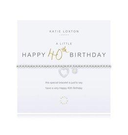 Katie Loxton a little 40TH BIRTHDAY - bracelet