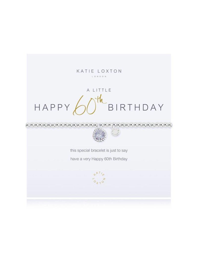Katie Loxton a little 60TH BIRTHDAY - bracelet