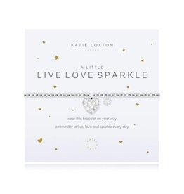 Katie Loxton a little LIVE LOVE SPARKLE - bracelet