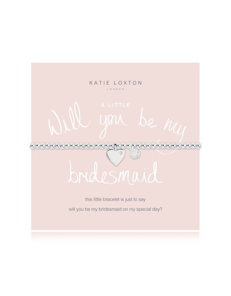 Katie Loxton a little WILL YOU BE MY BRIDESMAID - bracelet