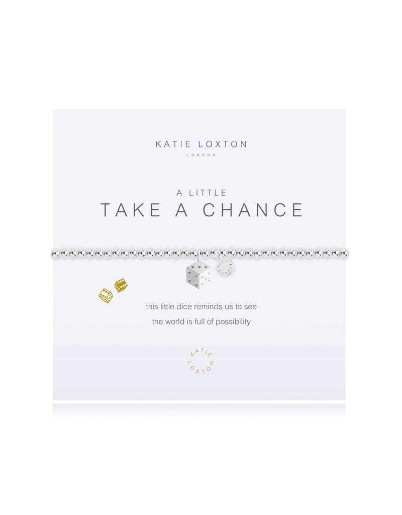 Katie Loxton a little TAKE A CHANCE- bracelet