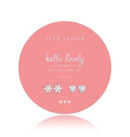 Katie Loxton Summer Sparkle Earrings, Hello Lovely