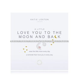 Katie Loxton a little - LOVE YOU TO THE MOON & BACK - bracelet